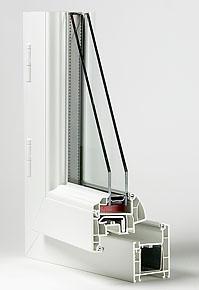 fenêtres pvc coupe