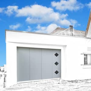 Porte de garage latérale 2