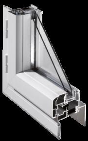 Fenêtres Aluminium coupe